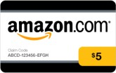 Win a $5 Amazon Gift Card Tonight