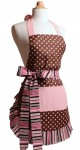 pink chocolate apron