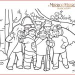 mirror mirror coloring page