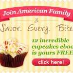 american family cupcake