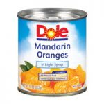 dole mandarin oranges