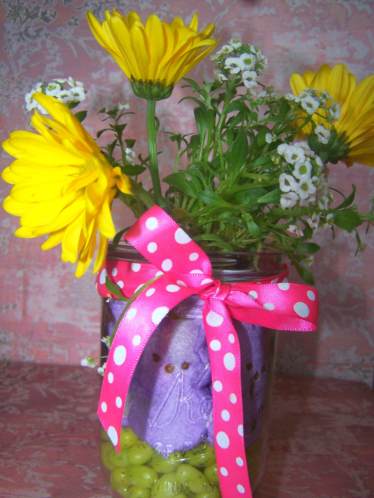 Pinterest Challenge: Easter Centerpiece + Nominate Next Week's Project