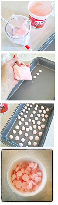 Pinterest Pin of the Day: Frozen Yogurt Dots