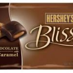 hersheys bliss dark chocolate caramel