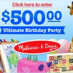 melissa and doug sweepstakes