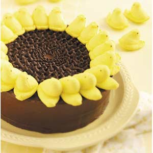 Pinterest Pin of the Day: Peeps Sunflower Cake