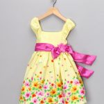 yellow meadow dress