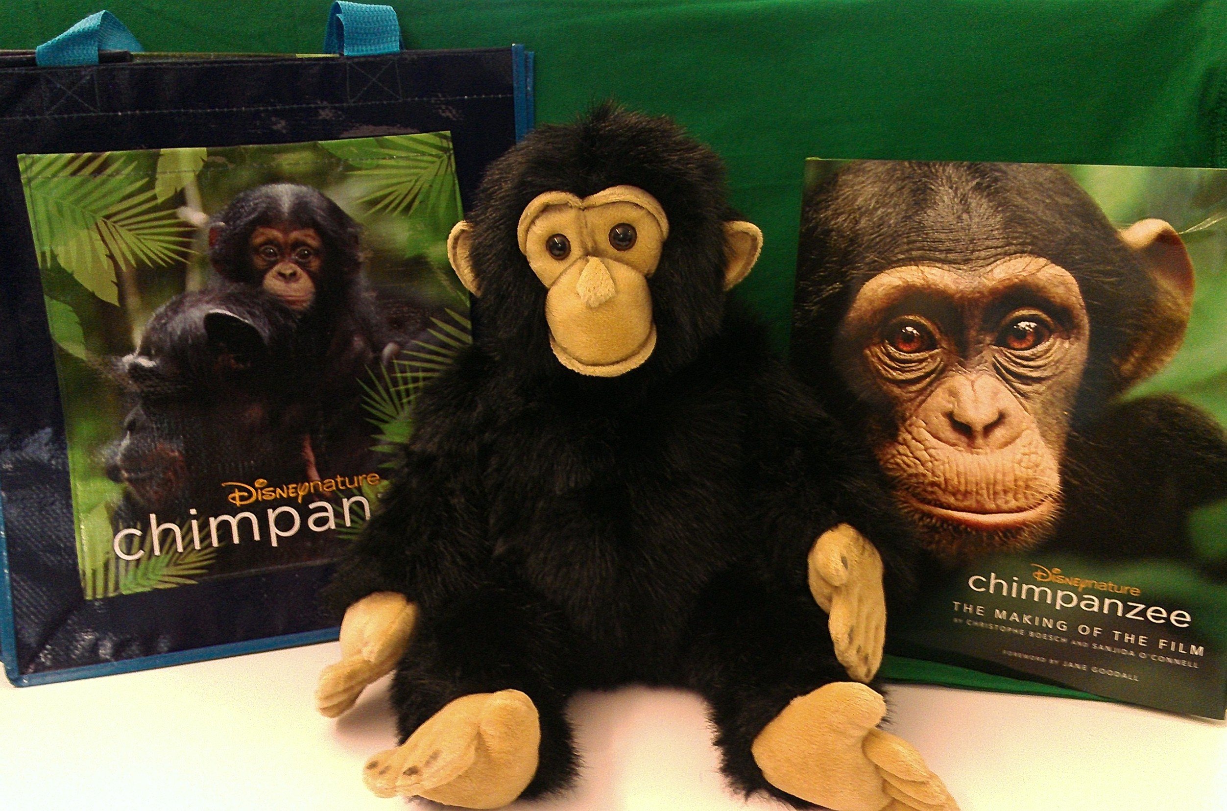 Chimpanzee Prize Pack Giveaway #DisneyGlobalEvent
