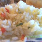 cheesy confetti rice