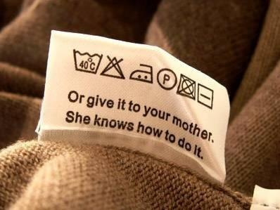 Funny Clothing Label That Says It All
