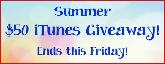 #Win a $50 iTunes Gift Card #Giveaway