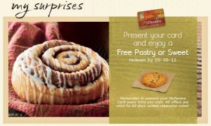 Free Pastry or Sweet Treat from Panera Bread