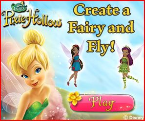 *NEW* Online Pixie Hollow Game