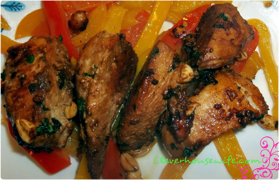 Thai Chicken with Basil Recipe #healthyrecipes
