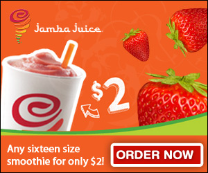 *HOT* Jamba Juice Coupon: Smoothie for $2!!