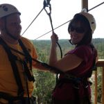 ziplining