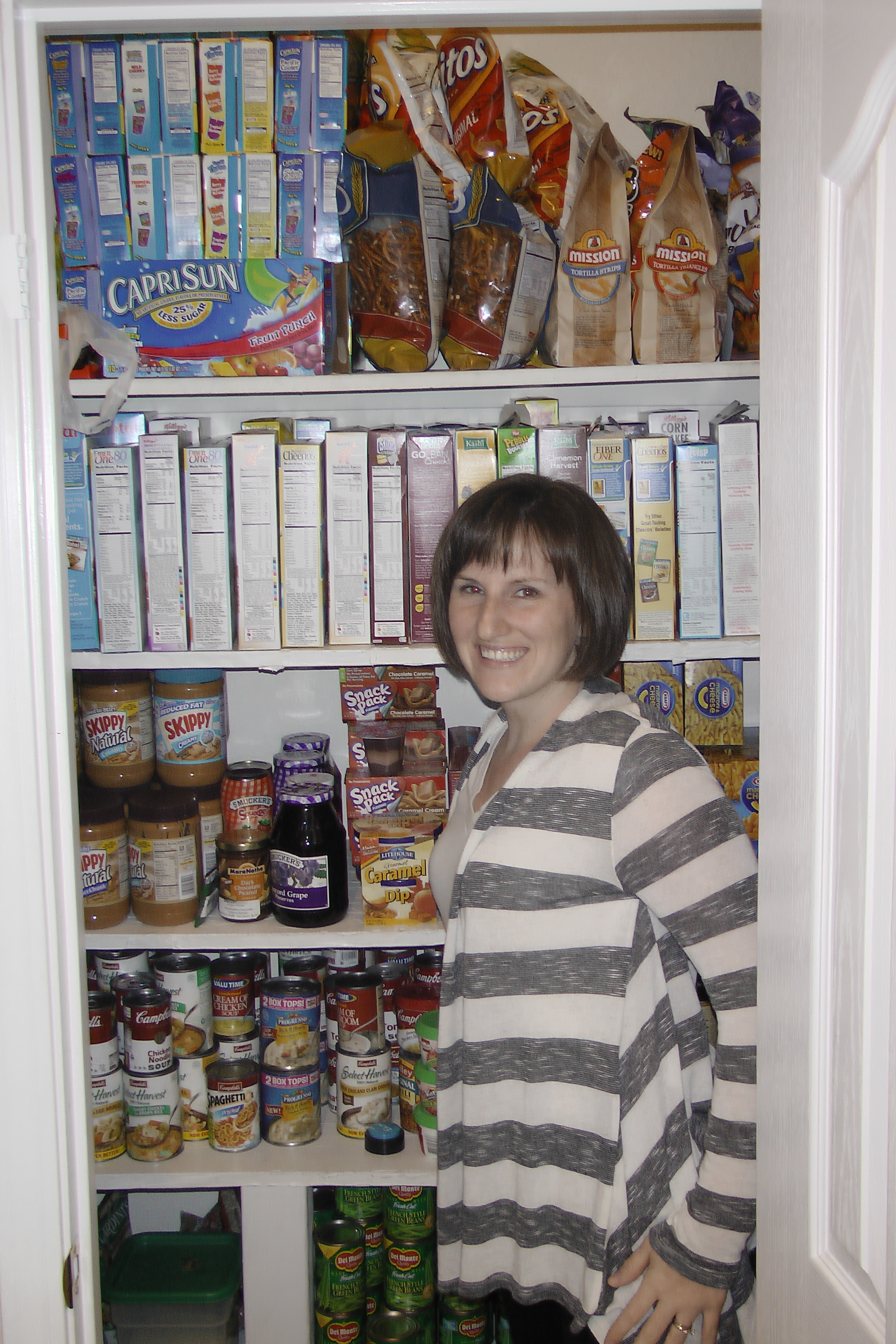 Building Up Food Storage and Planning for Emergencies