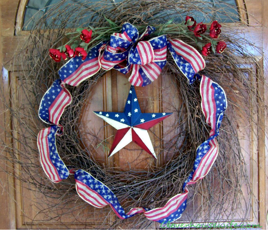 4th of July Wreath Inspiration