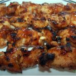 barbecue chicken kebabs