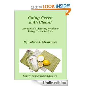 New eBook Hits the Digital Shelves Today: Going Green With Clean
