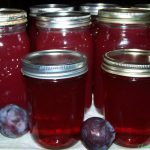homemade plum syrup