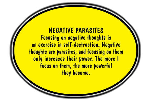 Fight The Negative Thoughts And Be Content With You