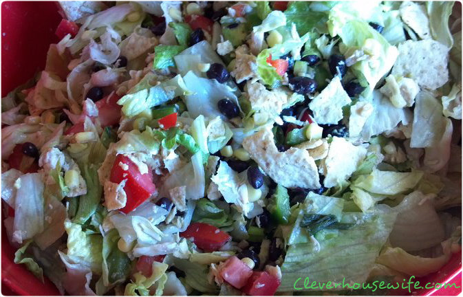Southwestern Chicken Chop Salad
