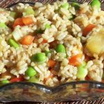 thai brown rice salad