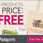 vistaprint 6 free