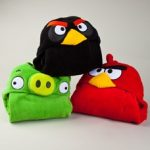 angry birds hooded blankets
