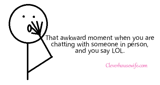 That Awkward Moment….