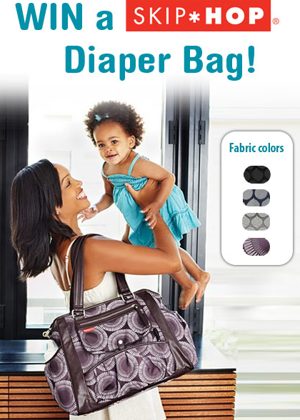 "Win This Luxurious ""Studio"" Diaper Tote by Skip*Hop"