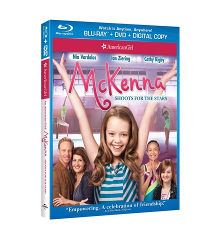 An American Girl: McKenna Shoots for the Stars Blu-ray Combo Pack Giveaway