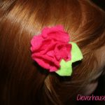 felt hairclip
