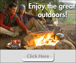 Win a Fire Pit and Supply of duraflame Campfire Roasting Logs