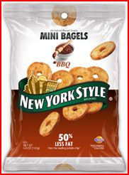 Snack It Up With New York Style Bagel Crisps