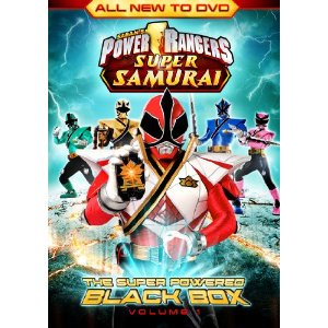 Power Rangers Super Samurai on DVD