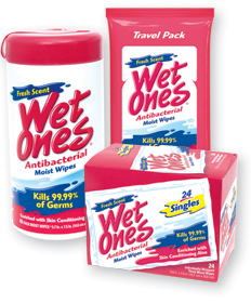Fight Germs With Wet Ones
