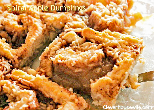Spiral Apple Dumplings