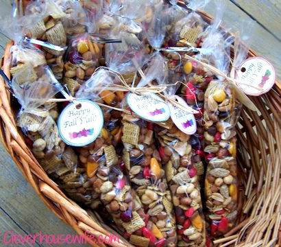 Autumn Trail Mix - Best Trail Mix Ever - Clever Housewife