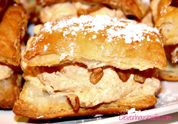 Pumpkin Mousse Napoleons with Nutella