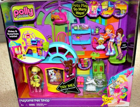 Polly Pocket Playtime Pet Shop and Polly Pocket DVD (Review) 