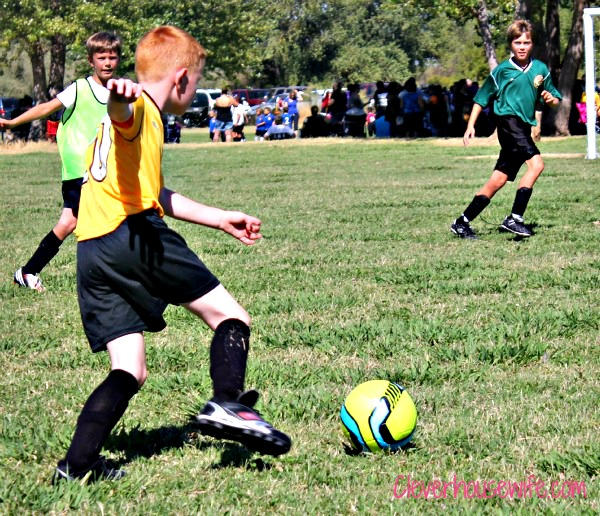 Wordless Wednesday: First Soccer Game