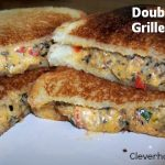 double stuffed grilled cheese