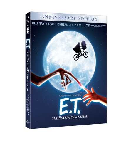 E.T. The Extra-Terrestrial on Blu-ray + Madame Tussaud&#8217;s Big Reveal