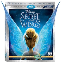 Secret of the Wings Now On DVD and Blu-ray