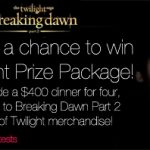 breaking dawn giveaway