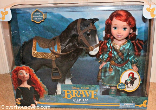 Win a Merida with Angus Gift Set From Disney Pixar's Brave