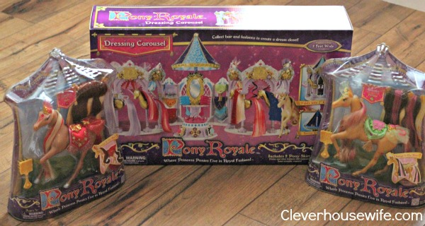 Pony Royale Princess Ponies and Dressing Carousel