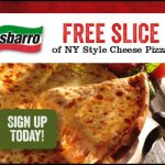 sbarro free slice